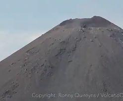 Scena jak z apokalipsy. Kamery uchwyciły moment erupcji wulkanu w Indonezji