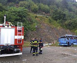 Autokar stoczył się w przepaść. Co najmniej 15 turystów zginęło w Bułgarii