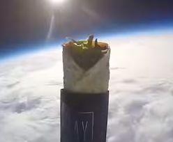 Kebab poleciał w kosmos. Wzniósł się na 38 km