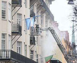 Sztokholm: potężny pożar w centrum miasta. Co najmniej 14 osób rannych
