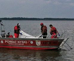 Jezioro Nyskie. WOPR odnalazł ciało zaginionego żeglarza. Poszukiwania trwały cztery dni