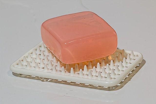 Używanie mydła