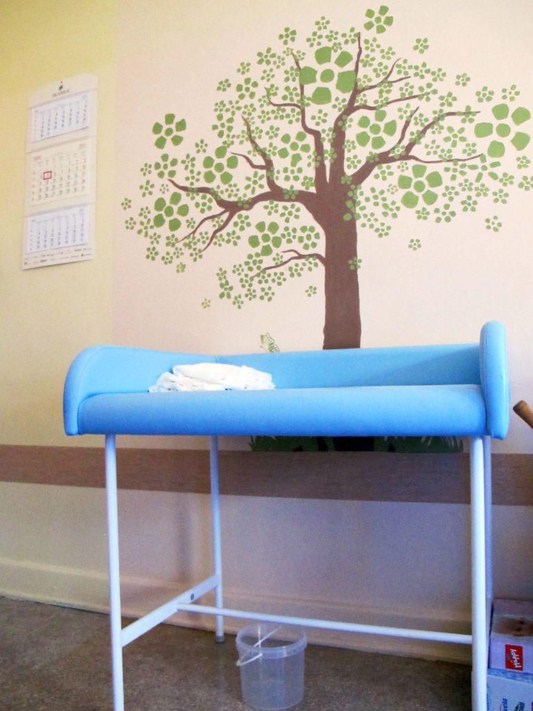 Przewijak dla noworodka
