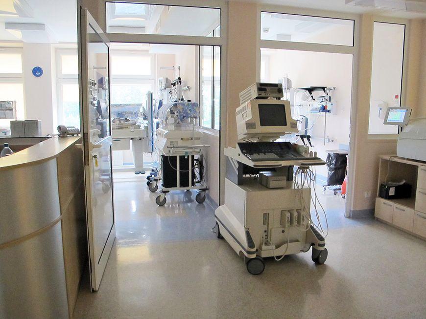 Wyposażenie oddziału neonatologicznego