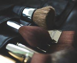 Uważaj na przybory do makijażu
