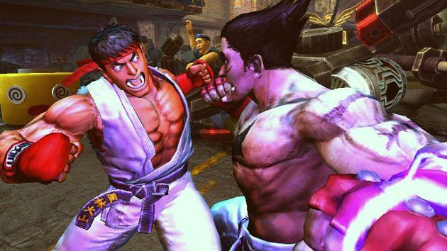 Street Fighter i Tekken w jednej grze