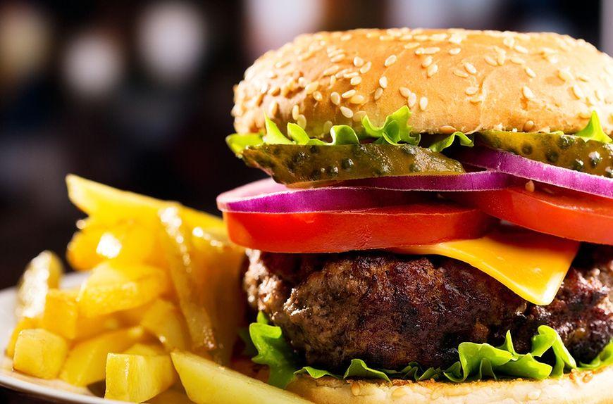 Wielkie hamburgery