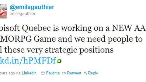 Ubisoft pracuje nad nowym MMORPG
