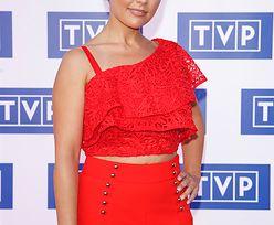 Katarzyna Cichopek pokazała brzuch na czerwonym dywanie