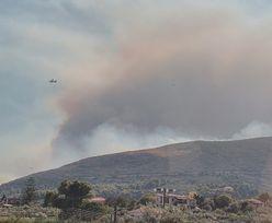 Grecja. Potężny pożar na wyspie Zakynthos. Jest wideo