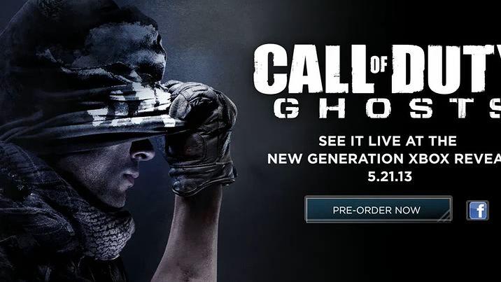 Call of Duty: Ghosts potwierdzone. Grę zobaczymy 21 maja. Na konferencji Microsoftu