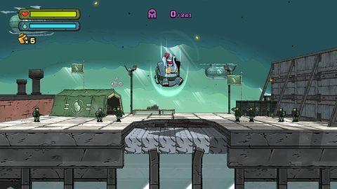 Ponaddźwiękowy jeż jest na wakacjach, więc Sega wypuszcza z klatki Tembo the Badass Elephant