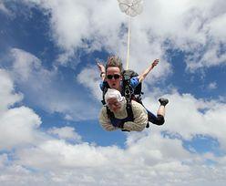 Nieustraszona 102-latka skoczyła ze spadochronem. Pobiła rekord