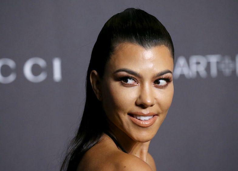 Kourtney Kardashian odsłoniła swoje ciało.