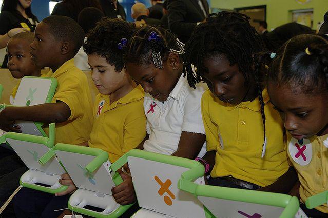 Dzieci biorące udział w projekcie