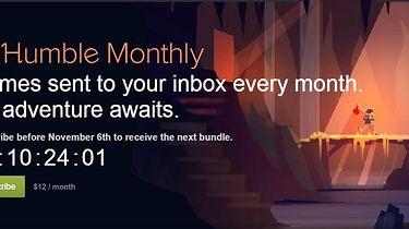 Humble Monthly to abonament na comiesięczne paczki gier