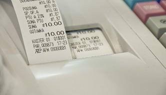 Paragon przed płatnością. Nowy pomysł rządu na uszczelnienie VAT w gastronomii
