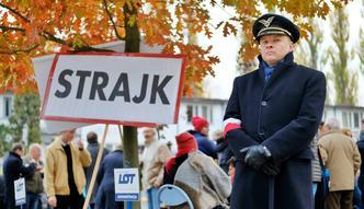 Strajk w LOT. Prezes zwolnił 67 osób. Związki mówią nawet o 80 osobach