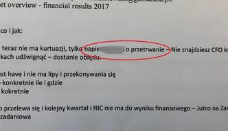 Money.pl dotarł do korespondencji, która miała nie ujrzeć światła dziennego