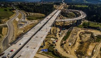 Najdłuższy tunel w Polsce, kilometrowe wiadukty. Tak powstaje Zakopianka