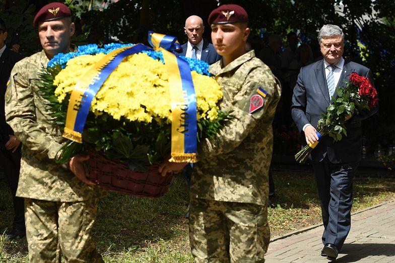 Petro Poroszenko odwiedził w niedzielę Sahryń na Lubelszczyźnie