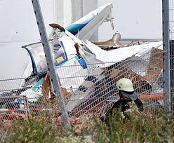Samolot rozbił się o duży sklep. Żaden z pasażerów nie przeżył