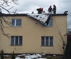 Zerwane dachy, awarie prądu. Wiatr w Polsce