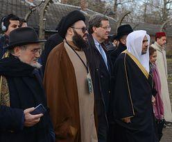 Auschwitz. Muzułmański przywódca religijny modlił się z Żydami
