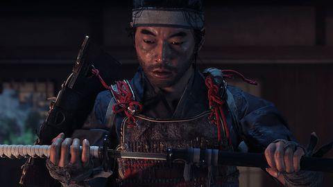 Lekcja walki kataną w Ghost of Tsushima