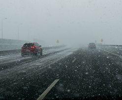 Ostrzeżenia GDDKiA. Niebezpieczne warunki na drogach