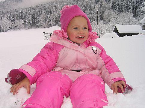 Skóra dziecka zimą