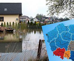 Podtopienia i alarmy powodziowe. Zagrożenie w wielu miejscach Polski