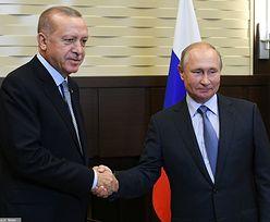 """Erdogan rozmawiał z Putinem ws. Syrii. """"Mamy porozumienie"""""""