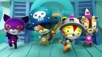 """Nowy serial animowany """"Tygrysek Percy i jego opowieści"""" na POLSAT JimJam"""