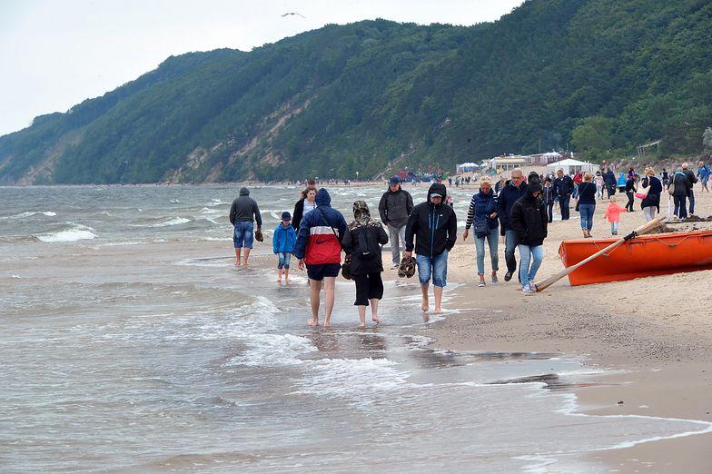 Woda w Bałtyku jest w tym roku chłodniejsza niż zazwyczaj.