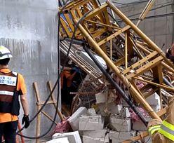 Winda spadła z 15. piętra na plac budowy domu. Trzy osoby nie żyją