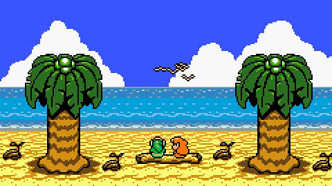 Ej, a graliście... w The Legend Of Zelda: Link's Awakening?