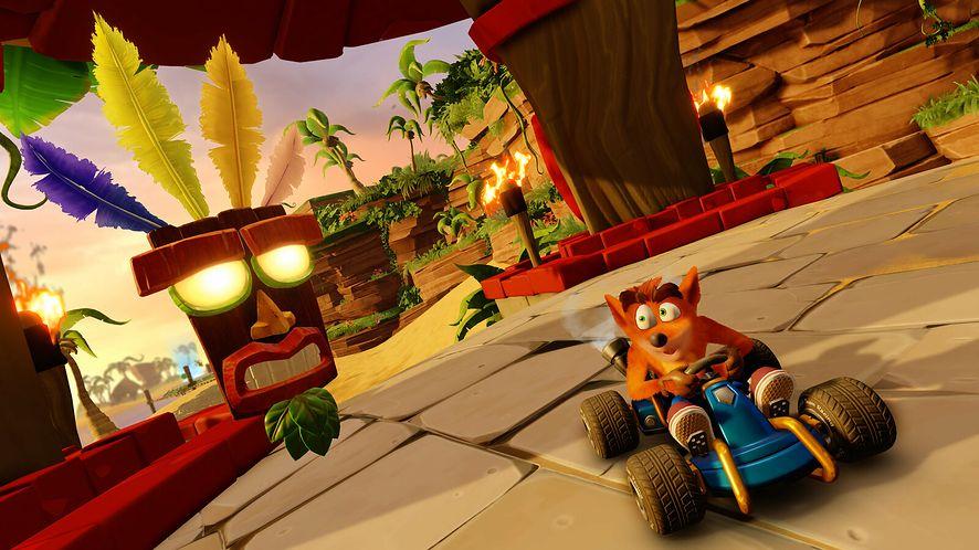 Crash Team Racing Nitro-Fueled z dwoma wariantami trybu przygodowego