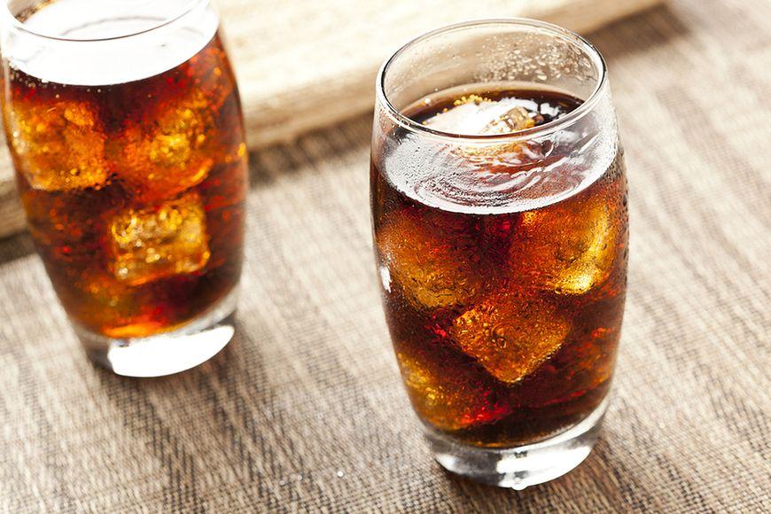 Słodkie napoje gazowane