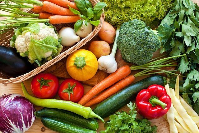 Surowe warzywa