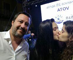 Studentki ukarały wicepremiera Włoch. Zdjęcie Matteo Salviniego hitem