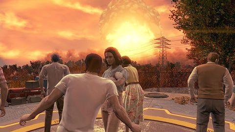 [Krótka piłka] Wyciekły screeny z Fallouta 4 na PlayStation 4. Prezentuje się przeciętnie