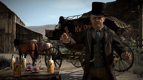 Kobieta-osioł, człowiek-ptak, czyli dziwy z Red Dead Redemption