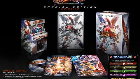 Street Fighter X Tekken Special Edition uderza w klejnoty
