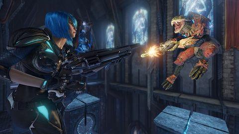 Quake Champions pozbywa się skrzynek z lootem (prawie)