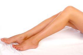 Gładkie nogi w ciąży