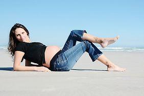 Jak przetrwać upał w ciąży?