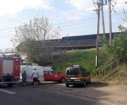 Wronki: wykoleił się pociąg towarowy. Trasa Poznań-Szczecin zablokowana