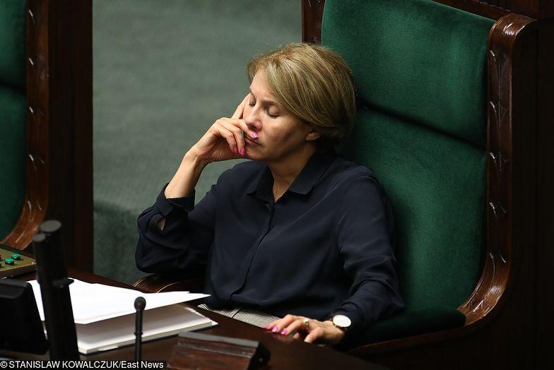 Wicemarszałek sejmu Barbara Dolniak zatankowała i nie zapłaciła. Teraz się tłumaczy