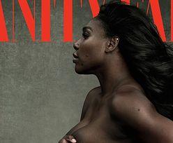 "Ciężarna Serena Williams nago na okładce ""Vanity Fair""!"